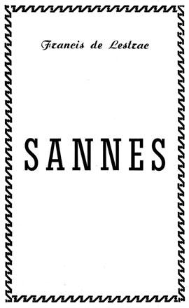Livre Histoire Sannes